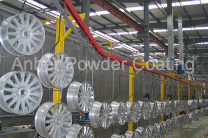 Anber Coating An Expert In Aluminium Wheel Powder